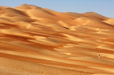 Can you believe earth is running out of sand?