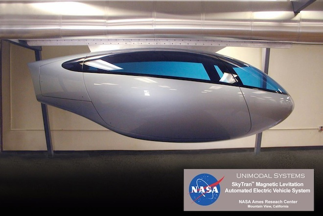 skyTran's magnetic sky pods to be tested in obscure Israeli city