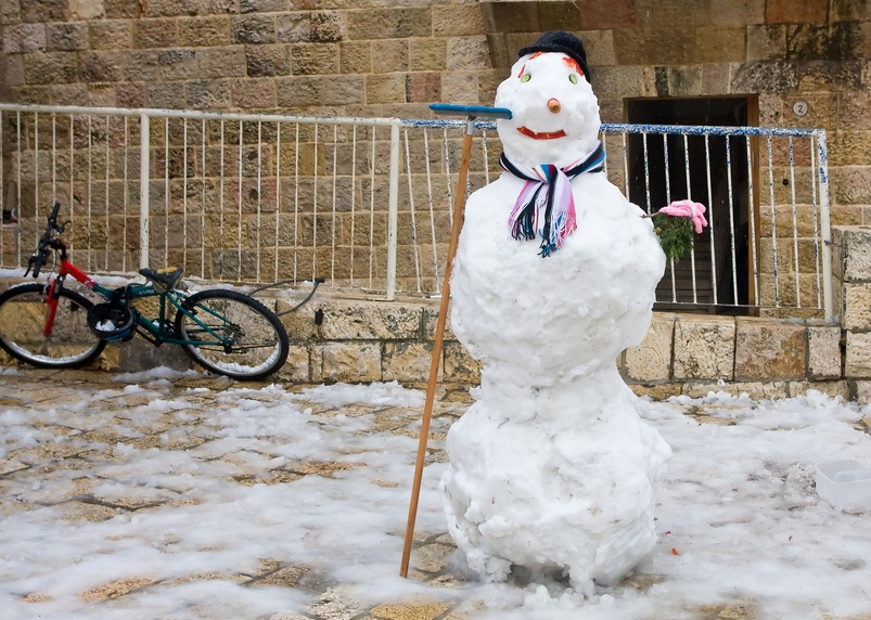 """Frozen Middle East needs some """"global warming"""""""