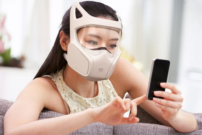 social gas mask