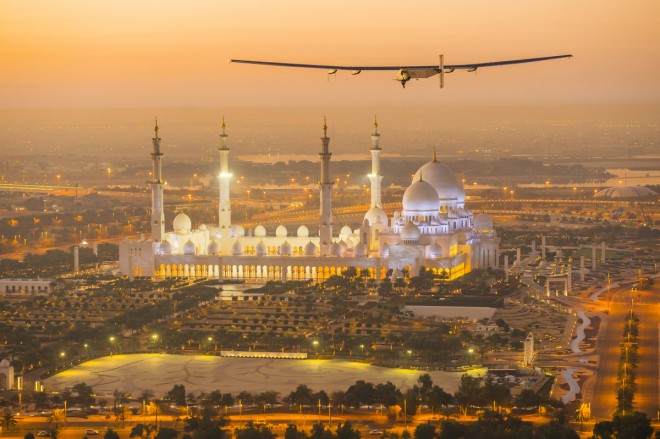 solar impulse 2 set to take off from Abu Dhabi in March 2015