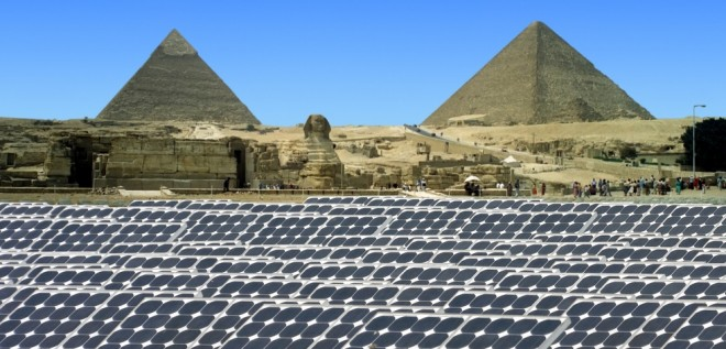Egypt To Shine With A New 3 5 Bil Solar Plant Green