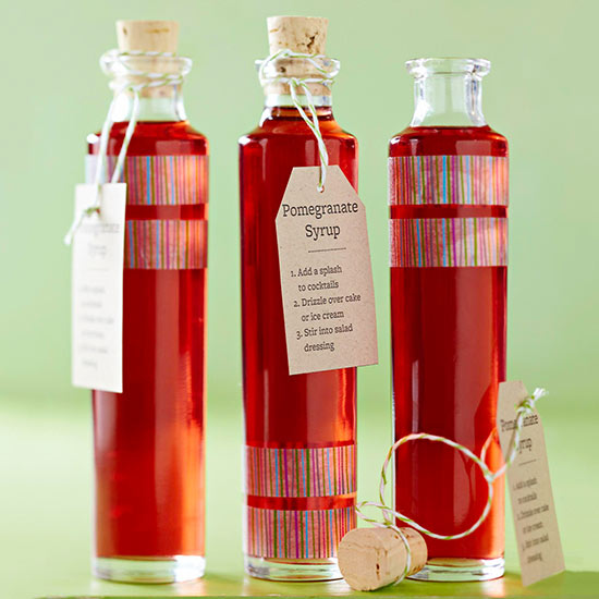 sweet pomegranate syrup recipe