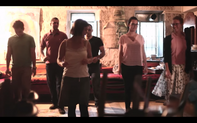 Palestinian swing dance