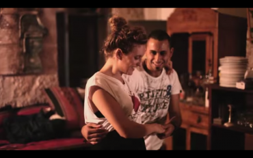 Palestinian guys swing dance for peace with Israelis (video)