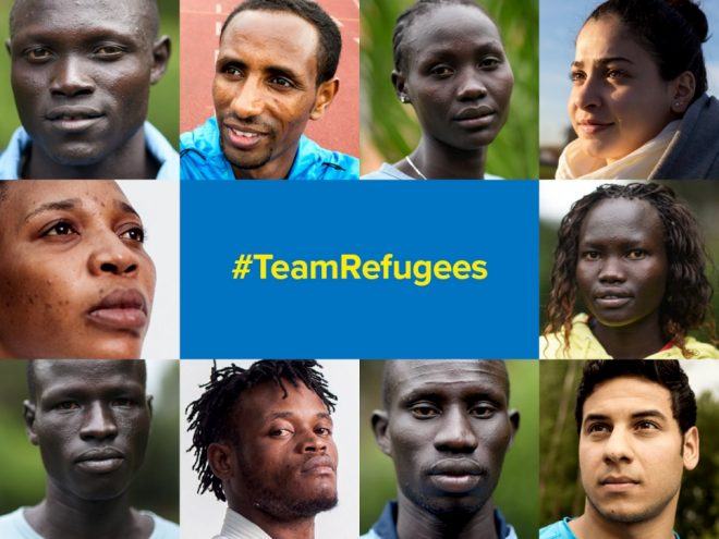 2016 olympic refugee team