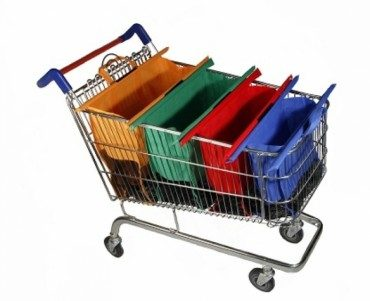 Wean yourself off plastic with clever Trolley Bags