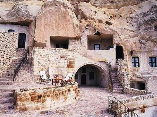 Underground Cave Home. 5 underground homes and hotels for desert dwellers tourists