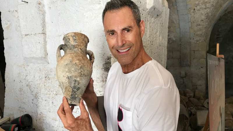 Uri Geller predicted it: An ancient, kosher natural soap factory found in Jaffa