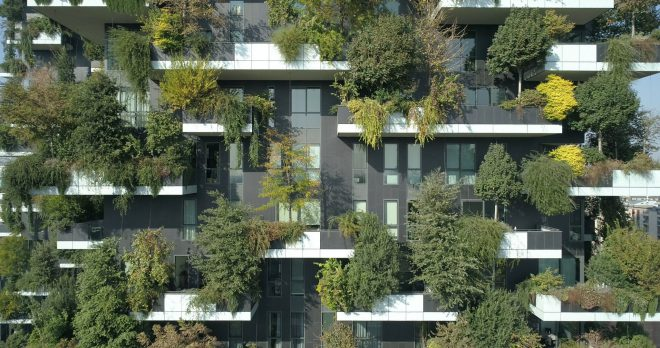 vertical forest in the city