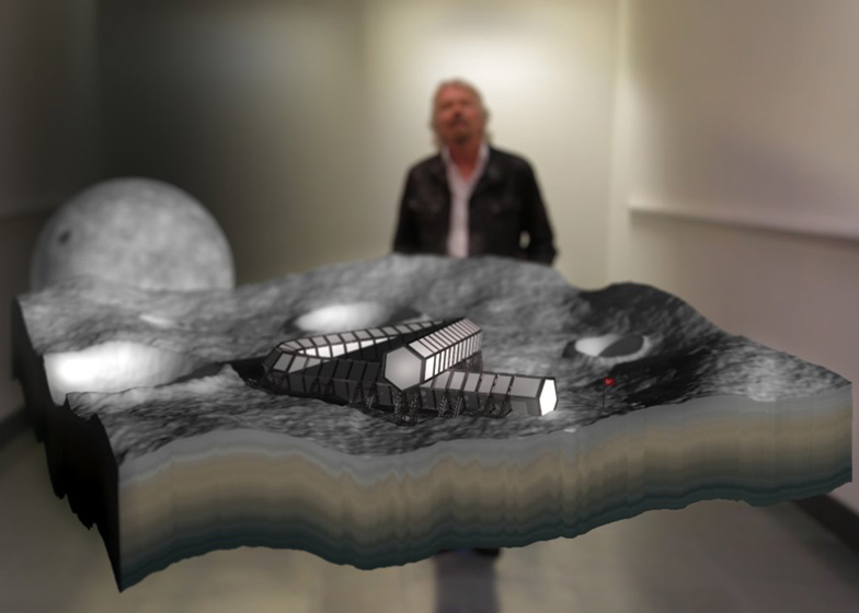 Virgin's Branson builds Moon Hotel – for space flight tourists?