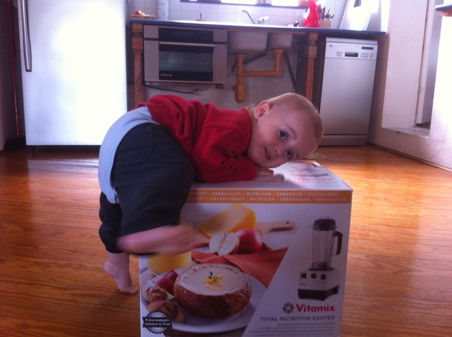 vitamix baby on box in Israel