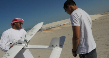 Wadi Drone for conservation flies through Emirati national park and scoops top prize