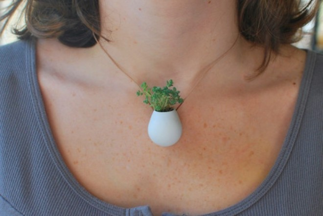 3D pocket planter