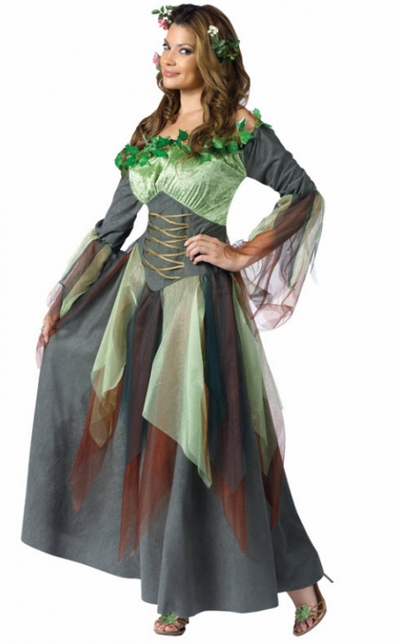 Halloween goes green with fantastic diy costumes you can recycle womens mother nature costume solutioingenieria Gallery