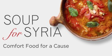 Soup for Syria: feed your belly and your soul