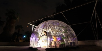 Garden Igloo: Grow tasty food and cannabis in this modern biodome greenhouse
