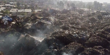 Dozens die in Ethiopian trash collapse