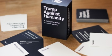 Irreverant card game seeks to save America