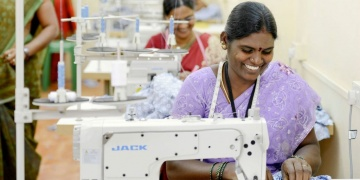Ending human trafficking, one stitch at a time