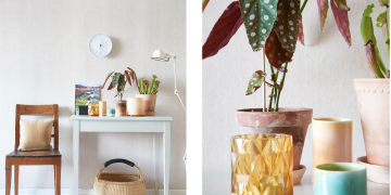 Natural fabric wallpaper that hipsters and walls will love