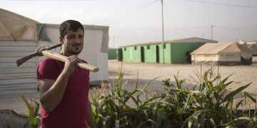 Plentiful rain not enough to grow the wheatfields of Syria