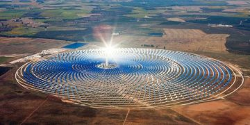 World's largest solar farm