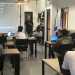 refugees learning code in a classroom in tel aviv